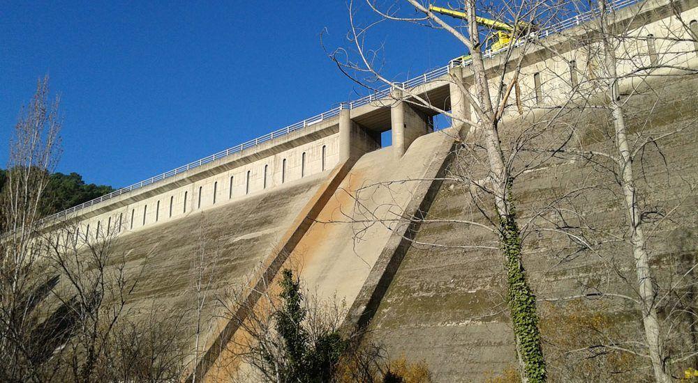 hidrodemolicion presa pajarero Ávila