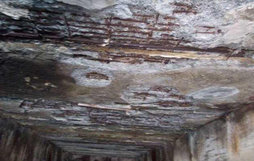 hidrodemolición corrosión muelle