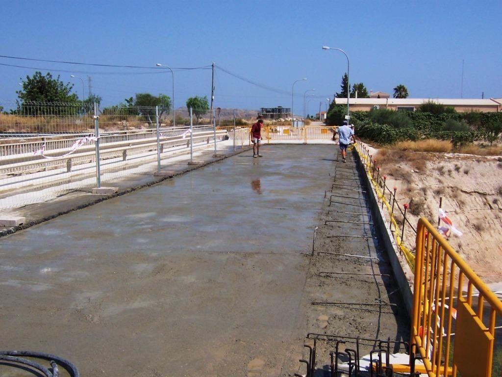 hidrodemolición tablero puente vigas hormigón