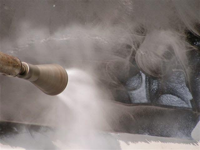 waterjetting limpieza de superficies agua a presión
