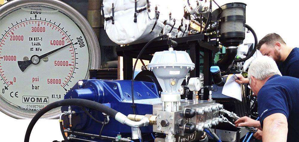 , Hidrodem suscribe un contrato con Aguapresión para el mantenimiento de sus bombas WOMA