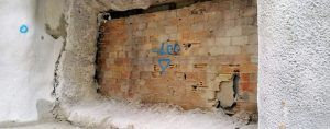 hidrodemolicion muro RENFE