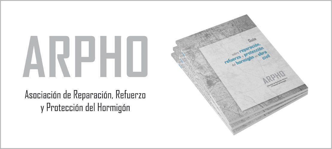 , ARPHO lanza una guía sobre reparación, refuerzo y protección del hormigón en obra civil