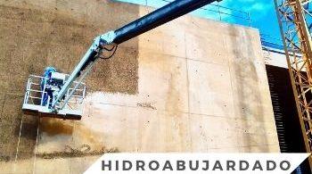 hidrodemolición, Trabajos