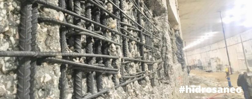 hidrosaneo en túnel gibraltar